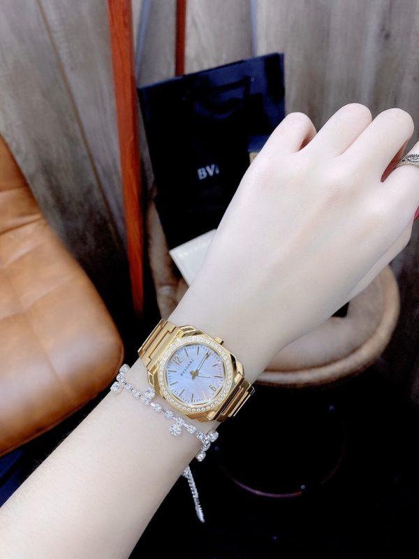 Đồng hồ nữ đẹp mặt xà cừ