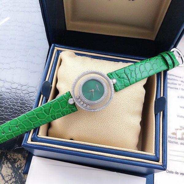 Đồng hồ nữ dây da đính đá