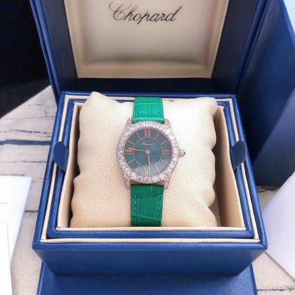 Đồng hồ nữ dây da Chopard