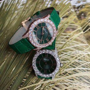 Đồng hồ nữ dây da cao cấp