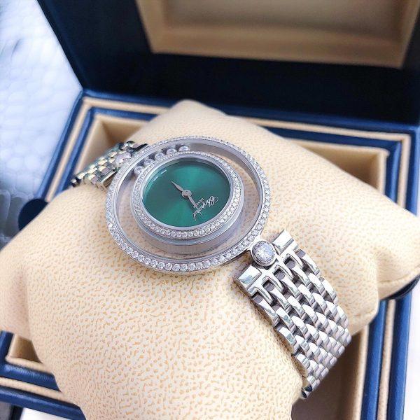 Đồng hồ nữ dây kim loại đính đá