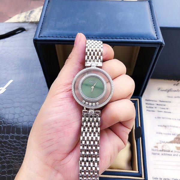 Đồng hồ nữ dây kim loại Chopard