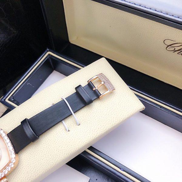 Đồng hồ nữ mặt vuông Chopard đẹp