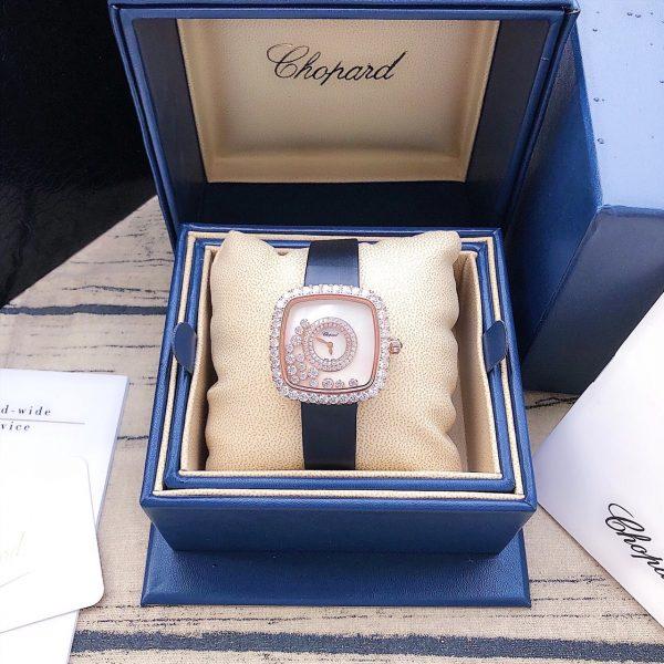 Đồng hồ nữ mặt vuông Chopard