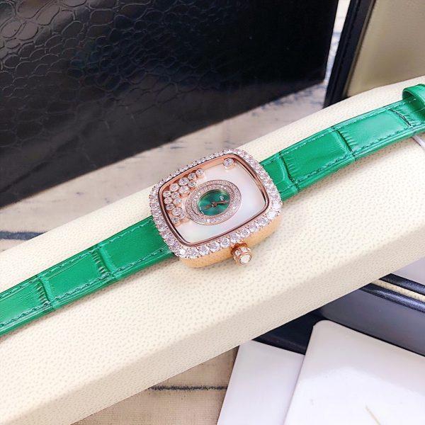 Đồng hồ nữ mặt vuông cao cấp