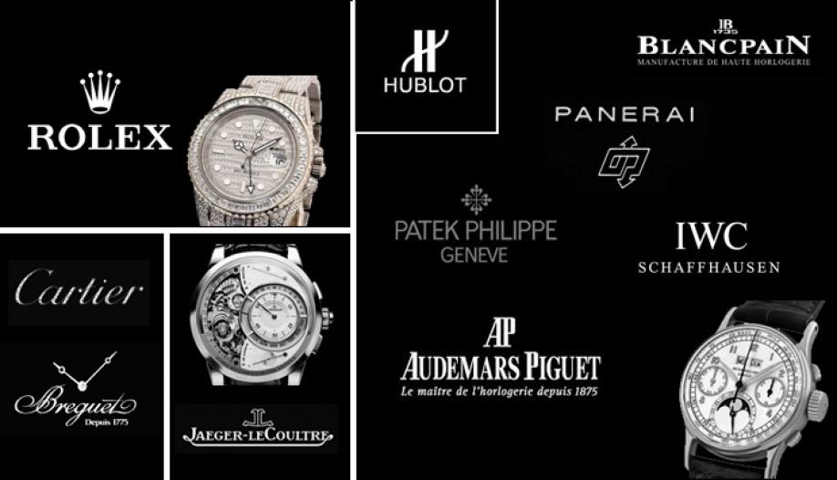Cách đọc các thương hiệu đồng hồ nổi tiếng
