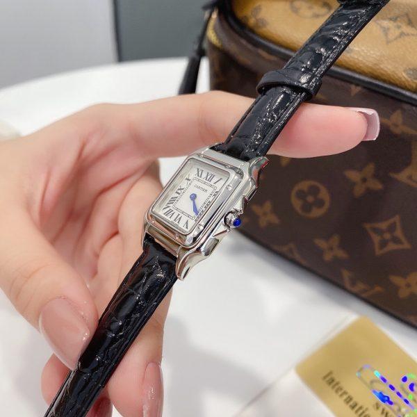 Đồng hồ Cartier nữ mặt vuông