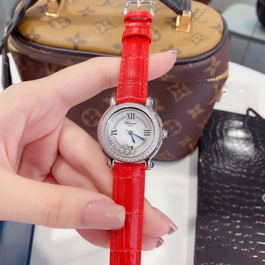 Đồng hồ Chopard nữ dây da