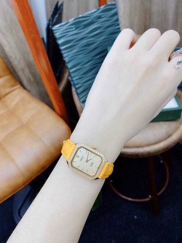Đồng hồ Rolex nữ màu vàng
