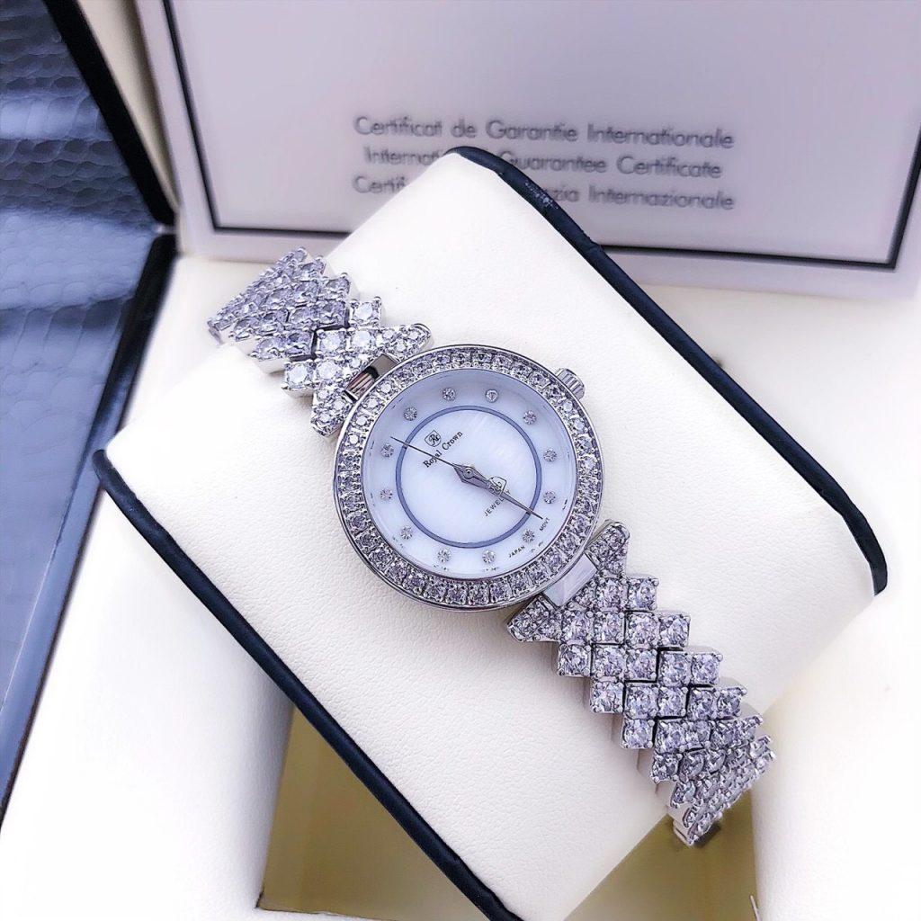 Đồng hồ Royal Crown nữ đính đá