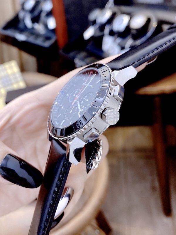 Đồng hồ Burberry nam mặt tròn