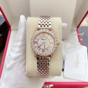 Đồng hồ Chopard nữ mặt tròn