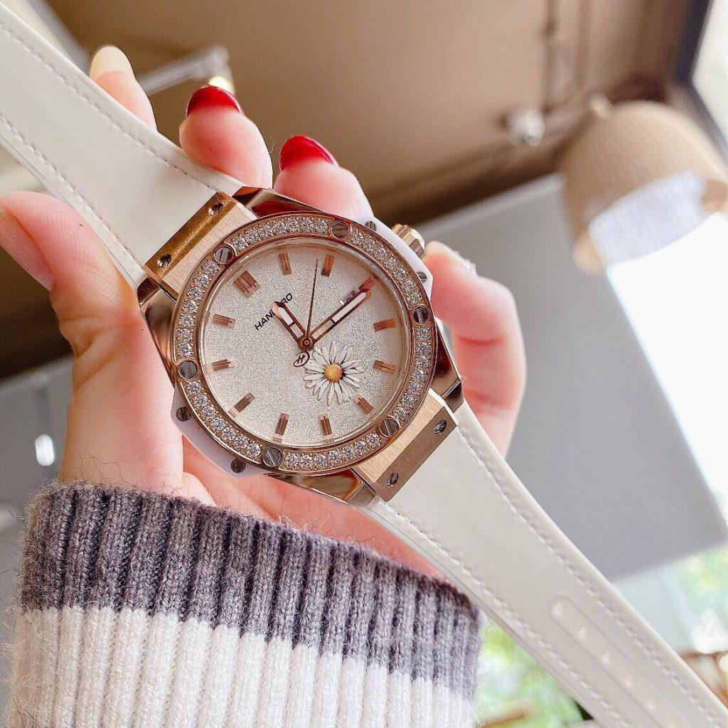 Đồng hồ Huboler nữ dây cao su
