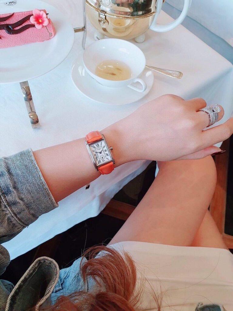 Đồng hồ Longines nữ dây da