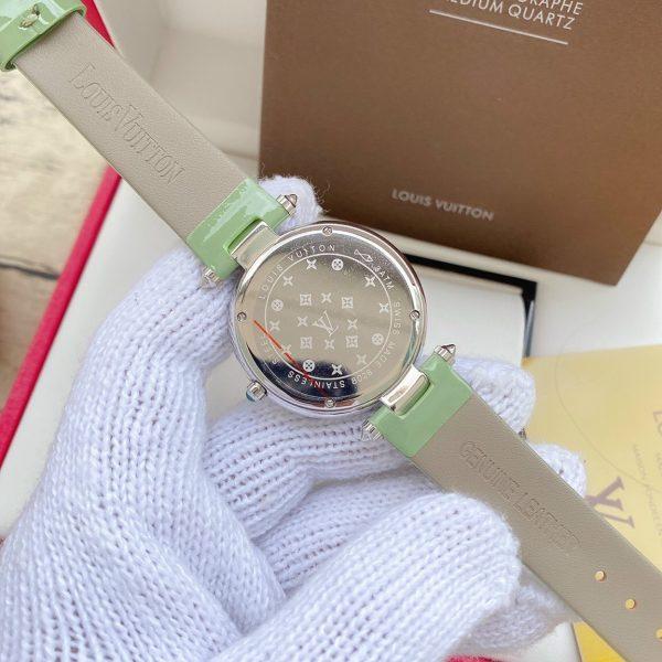 Đồng hồ Louis Vuitton nữ đính đá