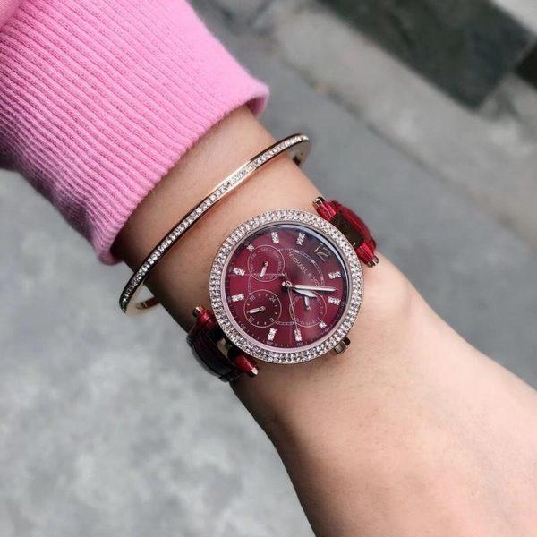 Đồng hồ Michael Kors nữ dây da