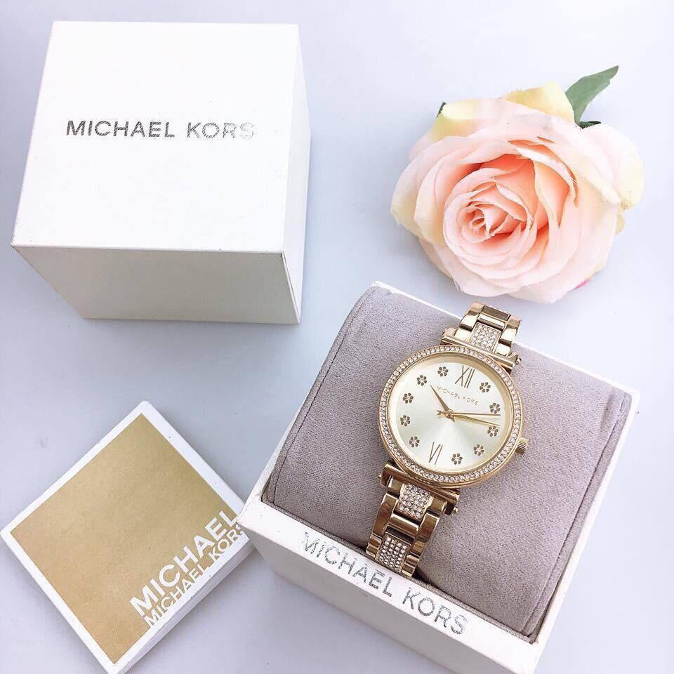 Đồng hồ Michael Kors nữ dây kim loại