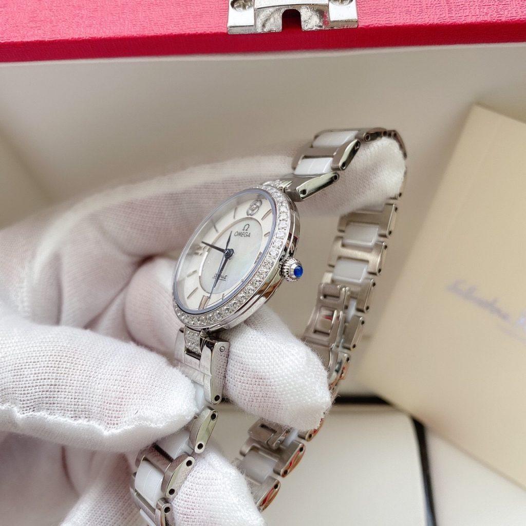 Đồng hồ Omega nữ đính đá