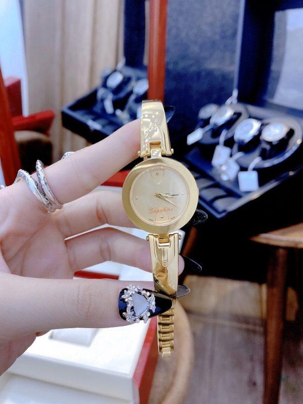 Đồng hồ Salvatore Ferragamo mạ vàng