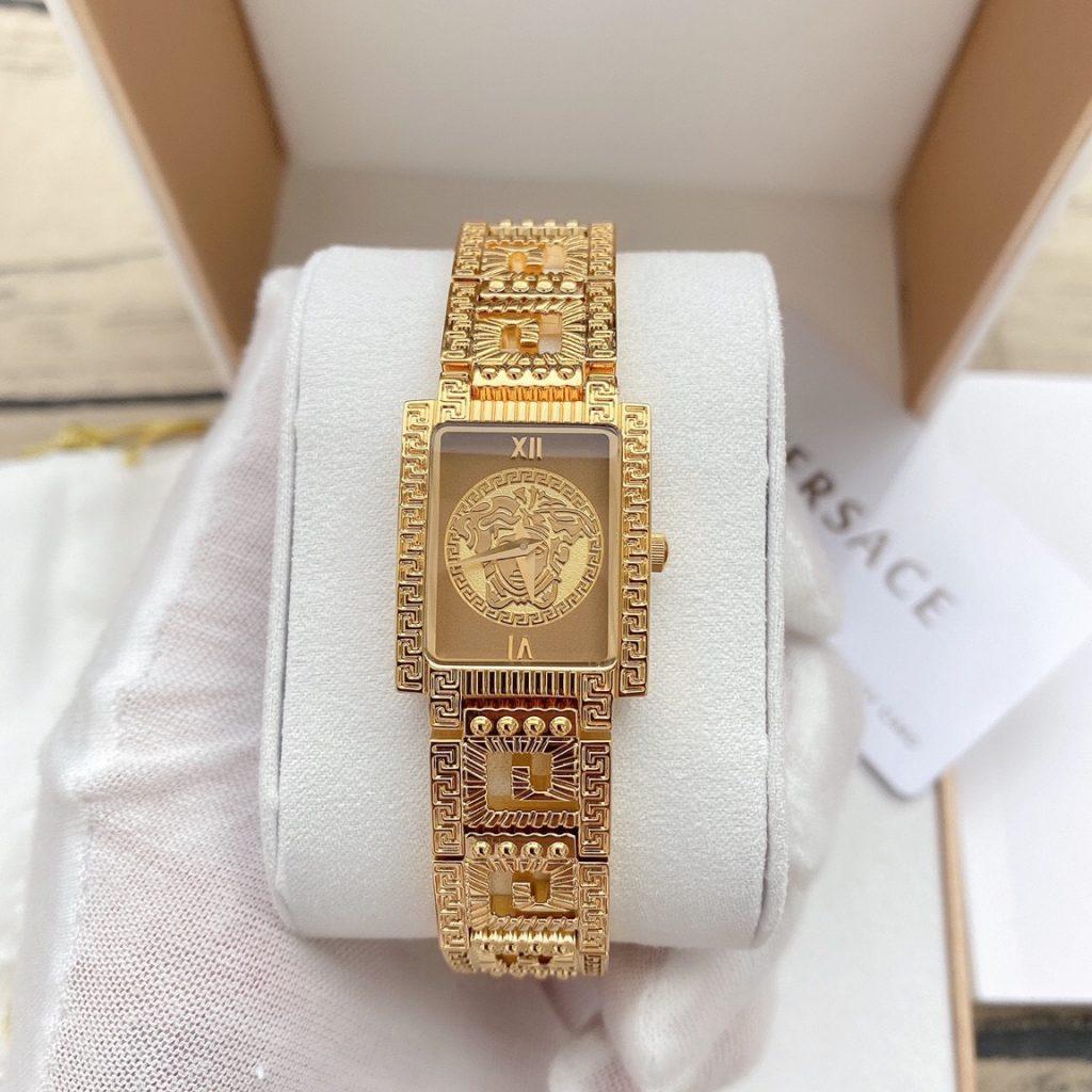 Đồng hồ Versace mạ vàng
