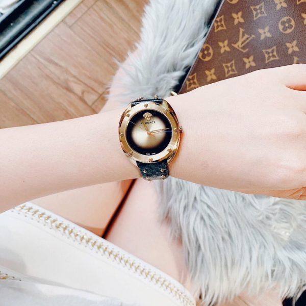 Đồng hồ Versace nữ dây da