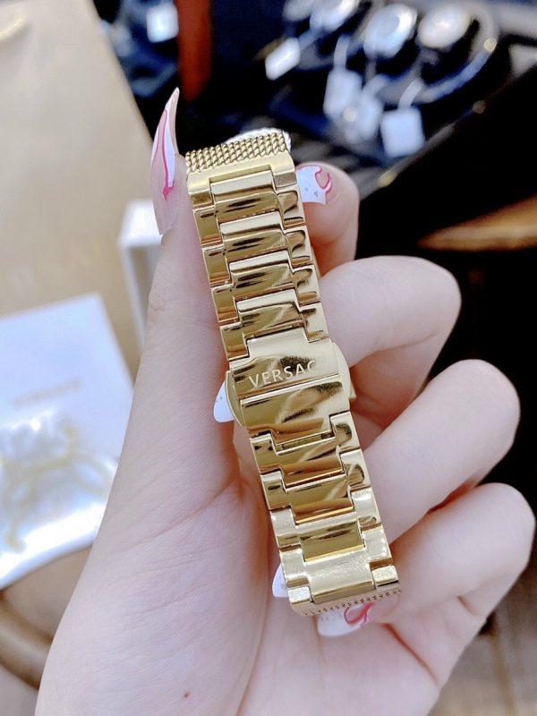 Đồng hồ Versace nữ mạ vàng