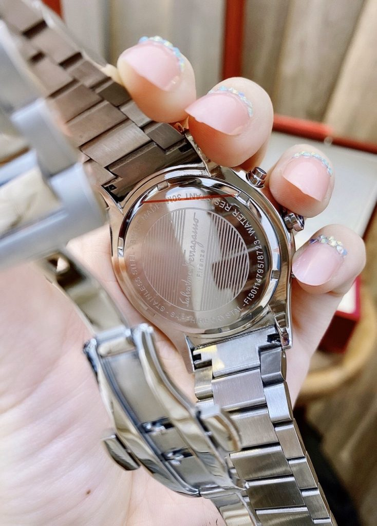 Đồng hồ Salvatore Ferragamo nam mặt tròn