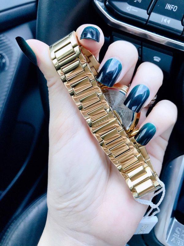Đồng hồ Versace nữ nữ mặt tròn