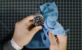 xử lí khi đồng hồ dây kim loại bị xước