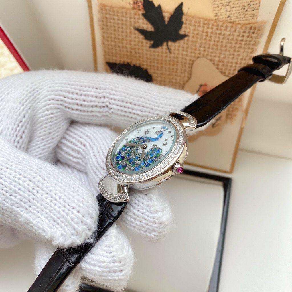 Đồng hồ Bvlgari nữ đính đá