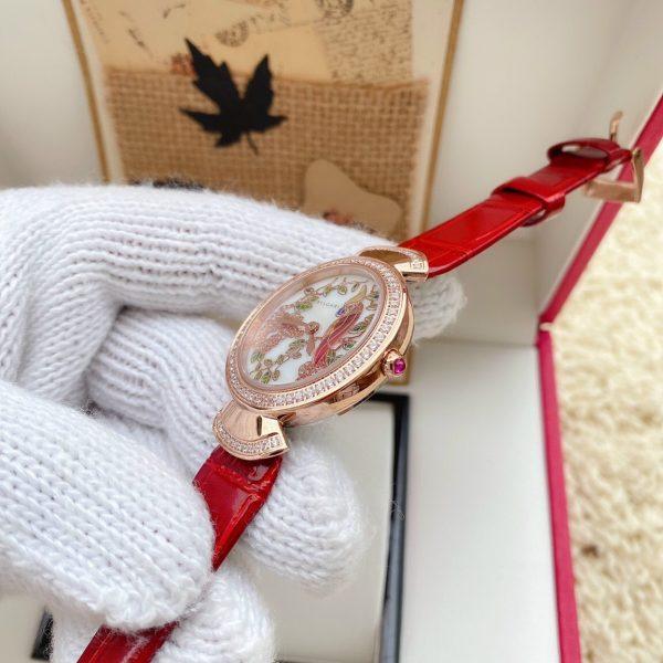 Đồng hồ Bvlgari nữ dây da