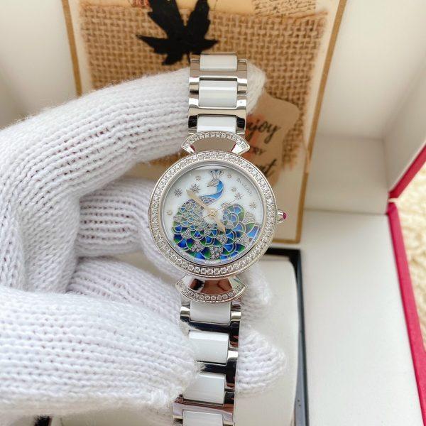 Đồng hồ Bvlgari nữ mặt tròn