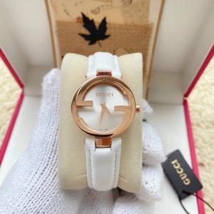 Đồng hồ Gucci nữ mặt tròn