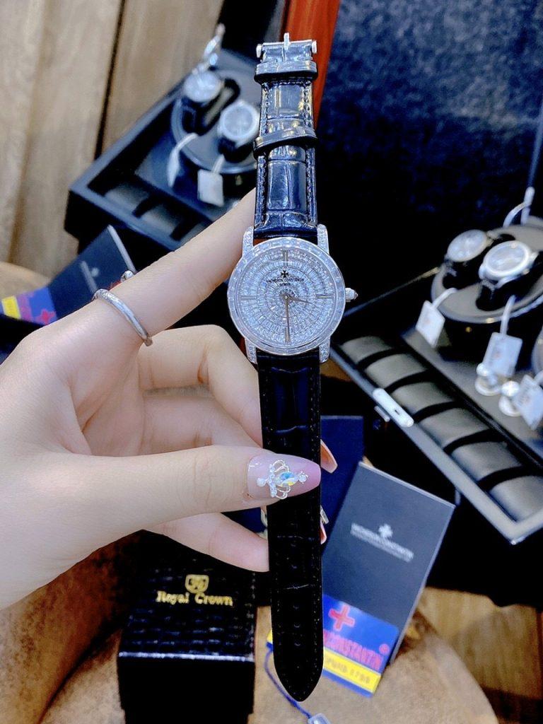 Đồng hồ Vacheron Constantin nữ đính đá