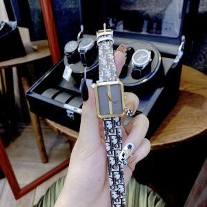 Đồng hồ Dior nữ dây da