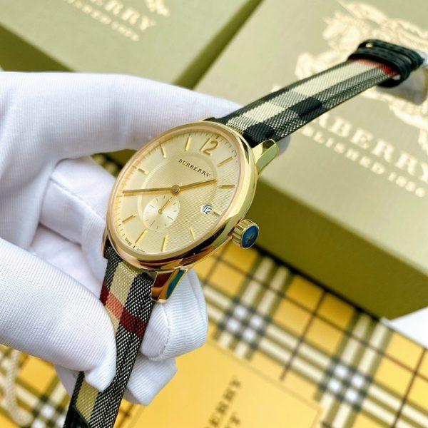 Đồng hồ Burberry dây da