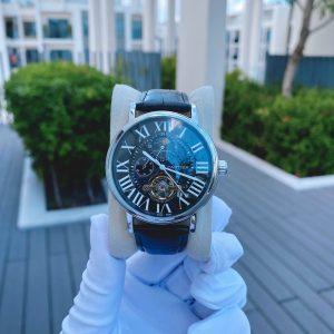 Đồng hồ Cartier nam dây da