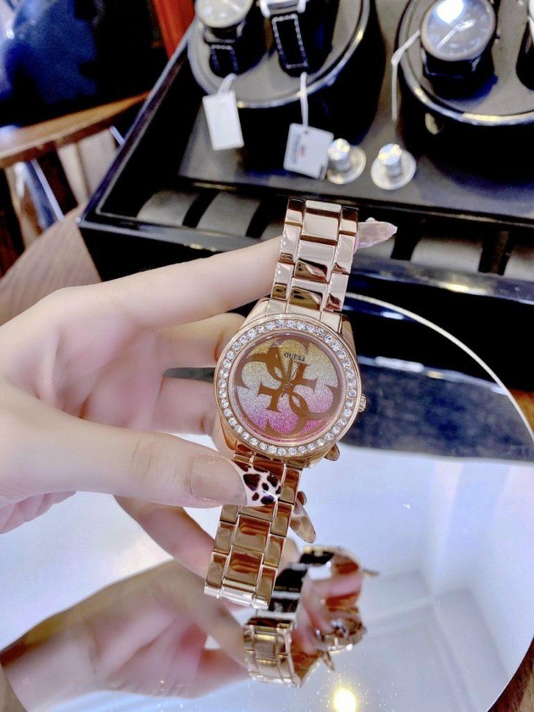 Đồng hồ Guess nữ dây kim loại
