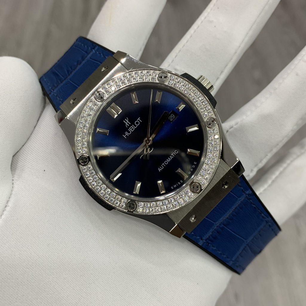 Đồng hồ Hublot nữ màu xanh