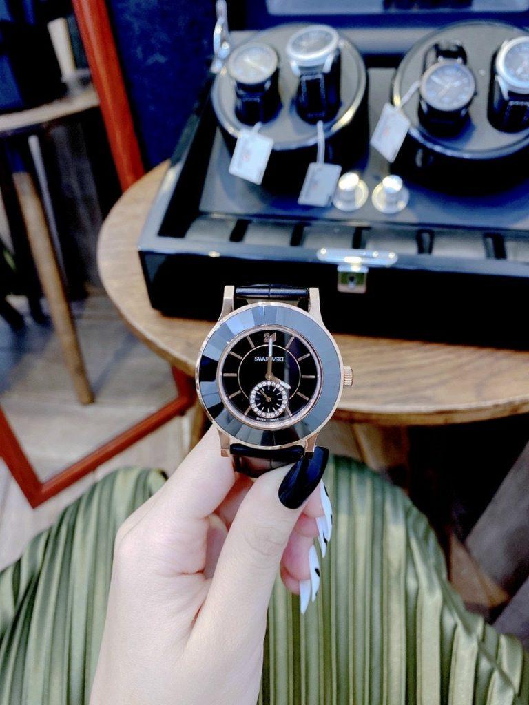 Đồng hồ Swarovski nữ đính đá