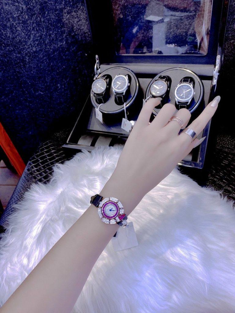 Đồng hồ BvlGari nữ siêu cấp