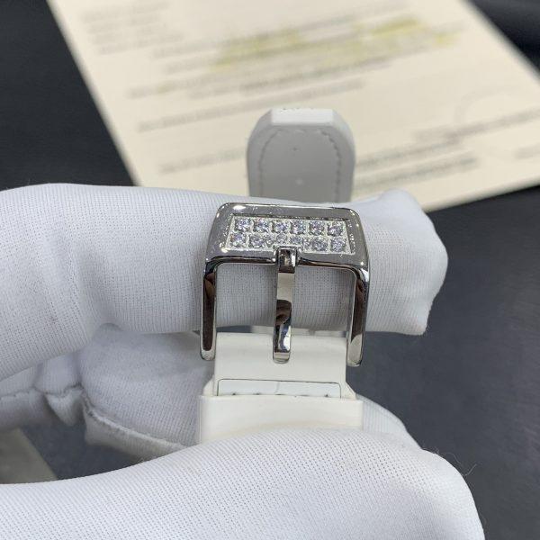 Đồng hồ Franck Muller nữ màu trắng