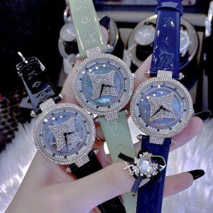 Đồng hồ Louis Vuitton mặt xoay tự động